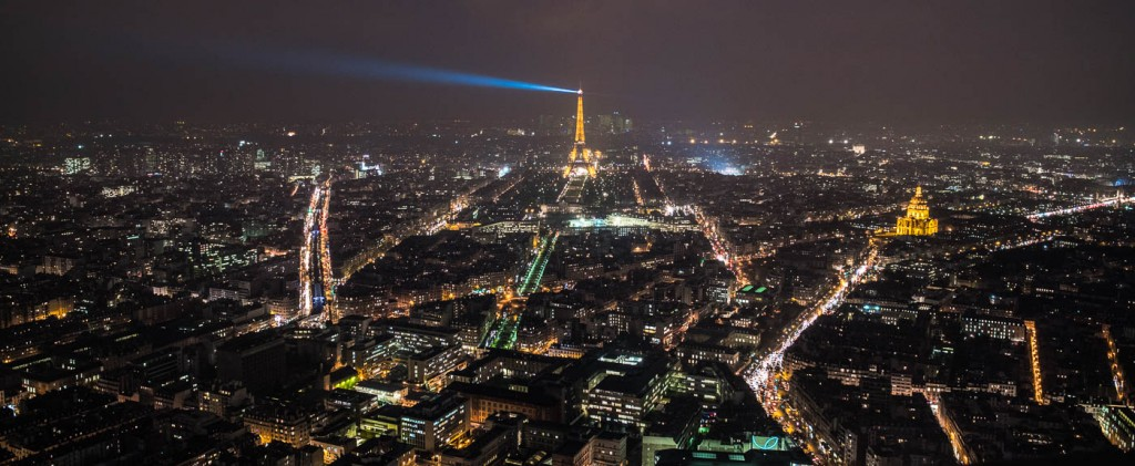 The Eiffel Tower from above. DearSusan photography workshop, Spring 2016