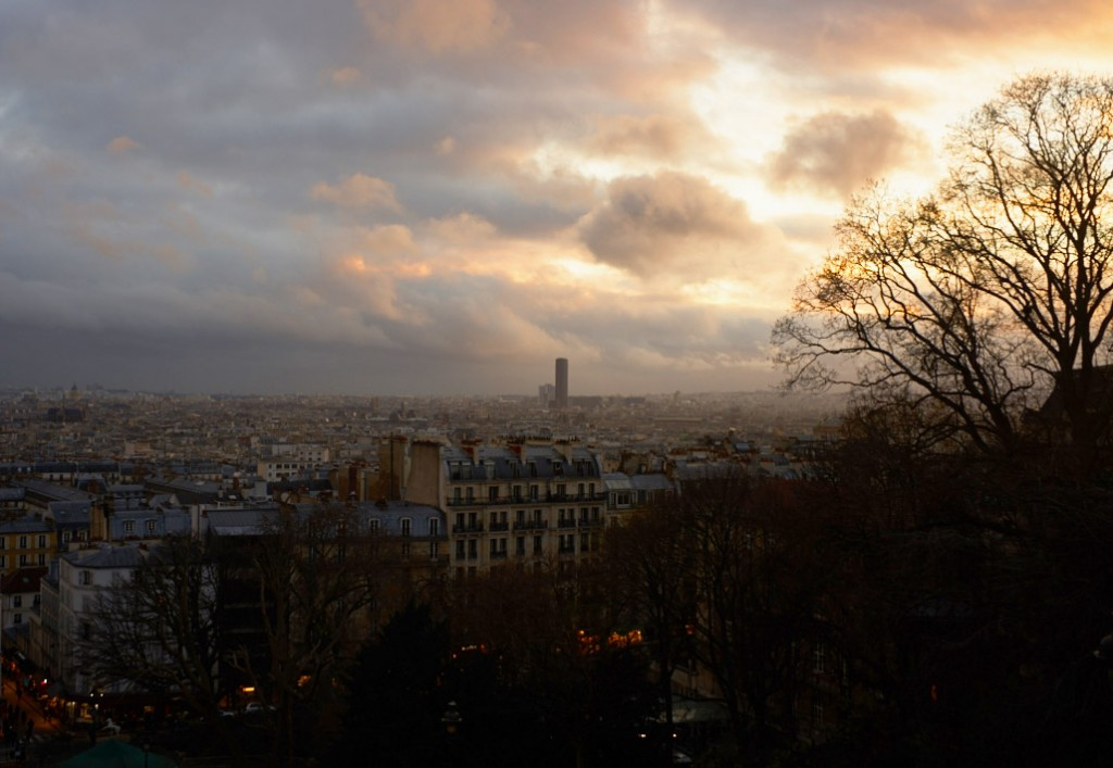 Montmartre overlook