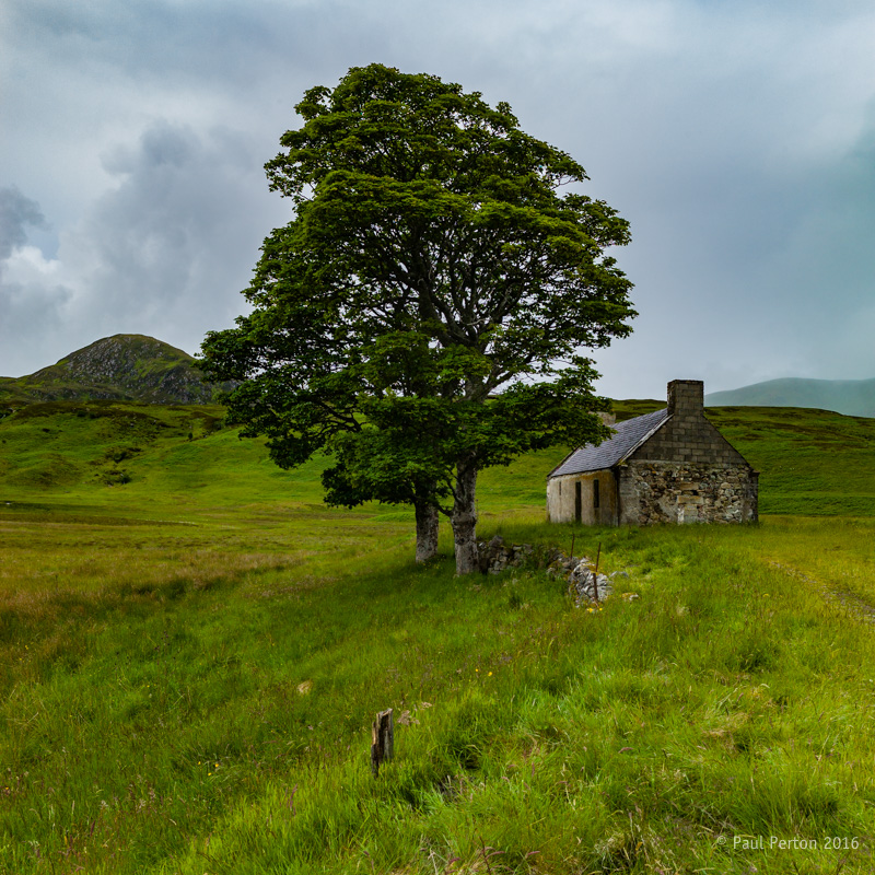 Lonely bothy, Loch Loyal. Leica M9. Paul Perton