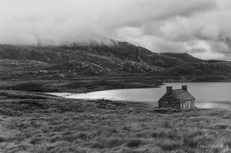 Bothy, Loch Stack. Leica M9. Paul Perton