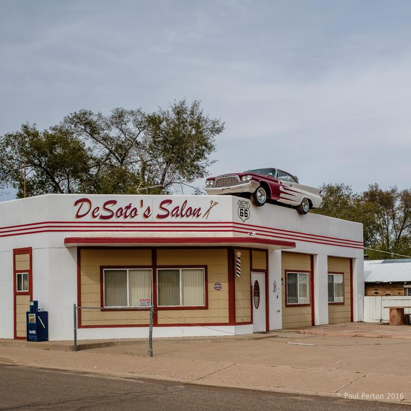 Park anywhere, Ash Fork AZ