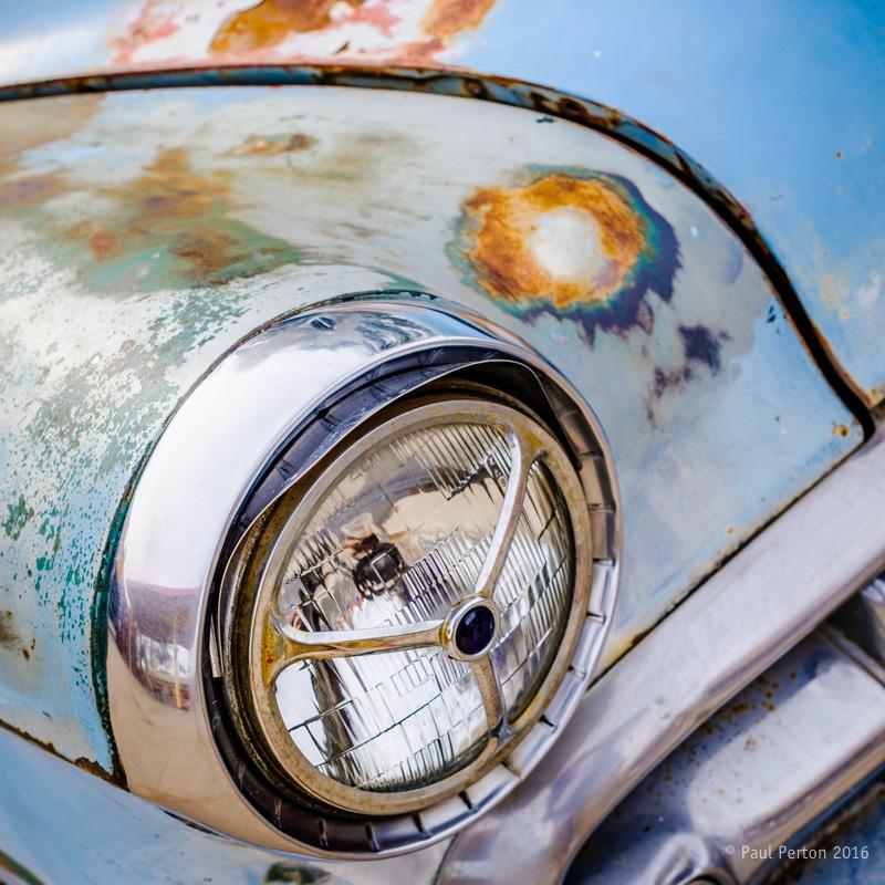 Dead car - Seligman AZ