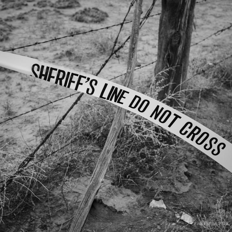 Sheriff's line