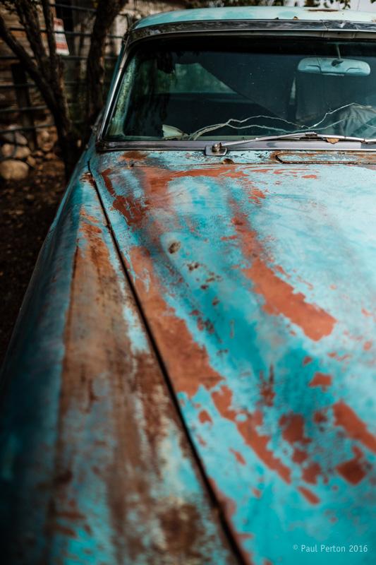Yet another dead car, Hackberry AZ