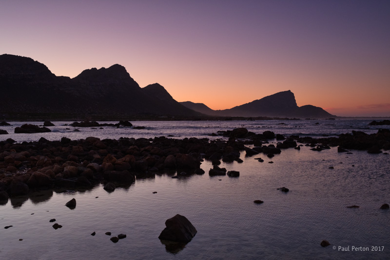 Rooi Els at sunrise yesterday (29 January)
