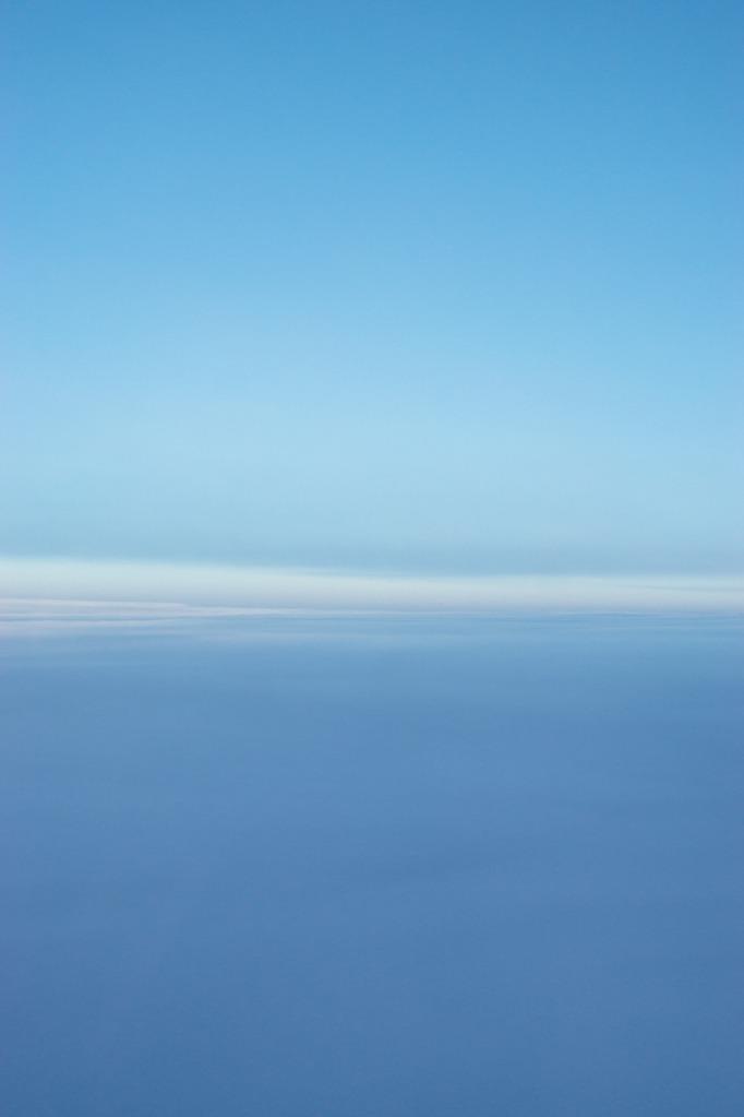 Milky cloudscape