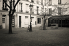 #618. A walk in Paris on a winters morning.