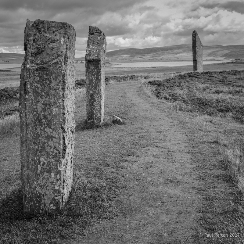 The standing stones of Stenness. Fuji X-Pro2
