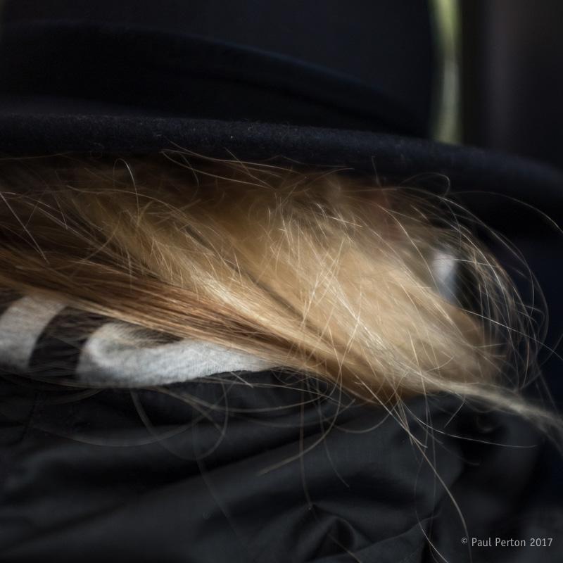 Tram traveller, Oslo - Paul Perton