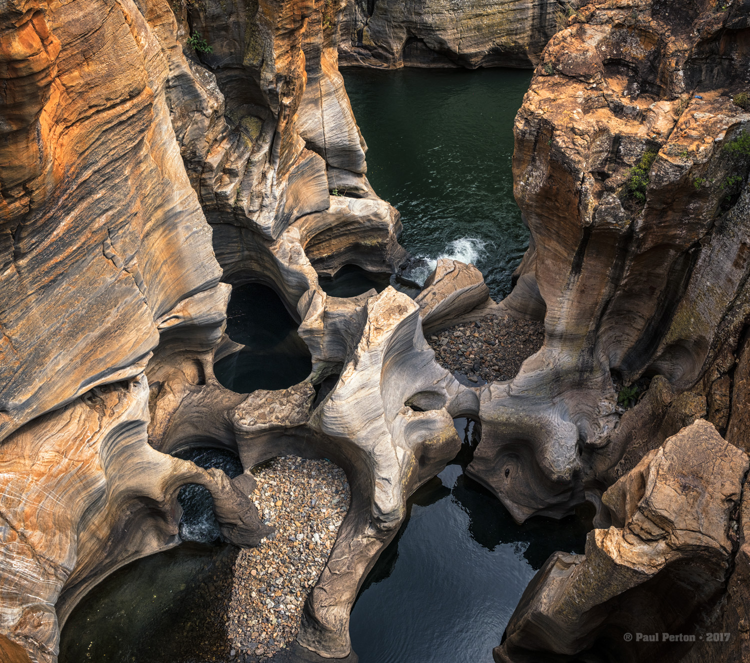 Bourke's Luck Potholes, Mpumulanga