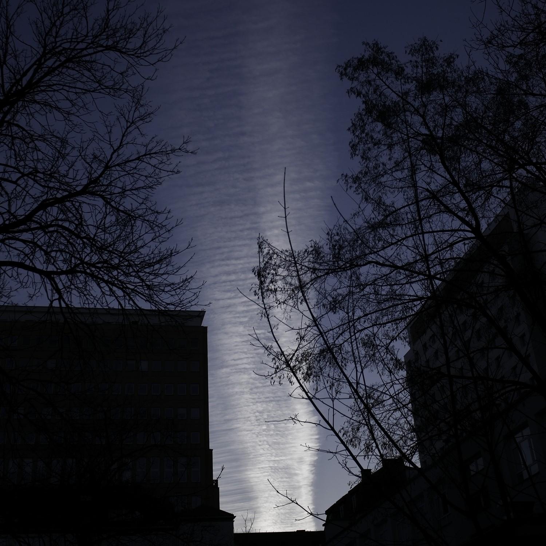Strange light in the sky, Warsaw