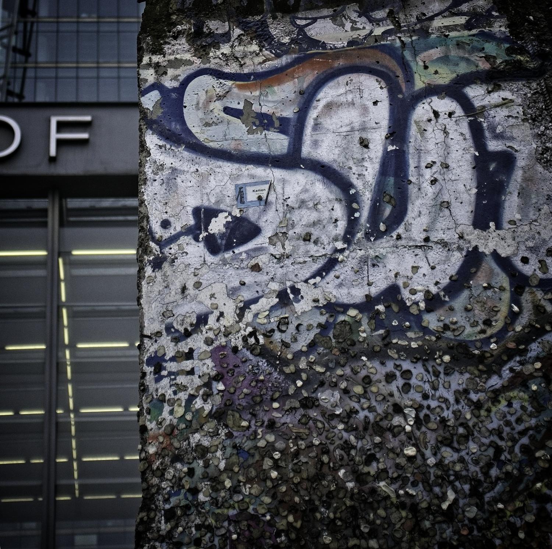 Wall reminder, Potsdamer Platz - Berlin