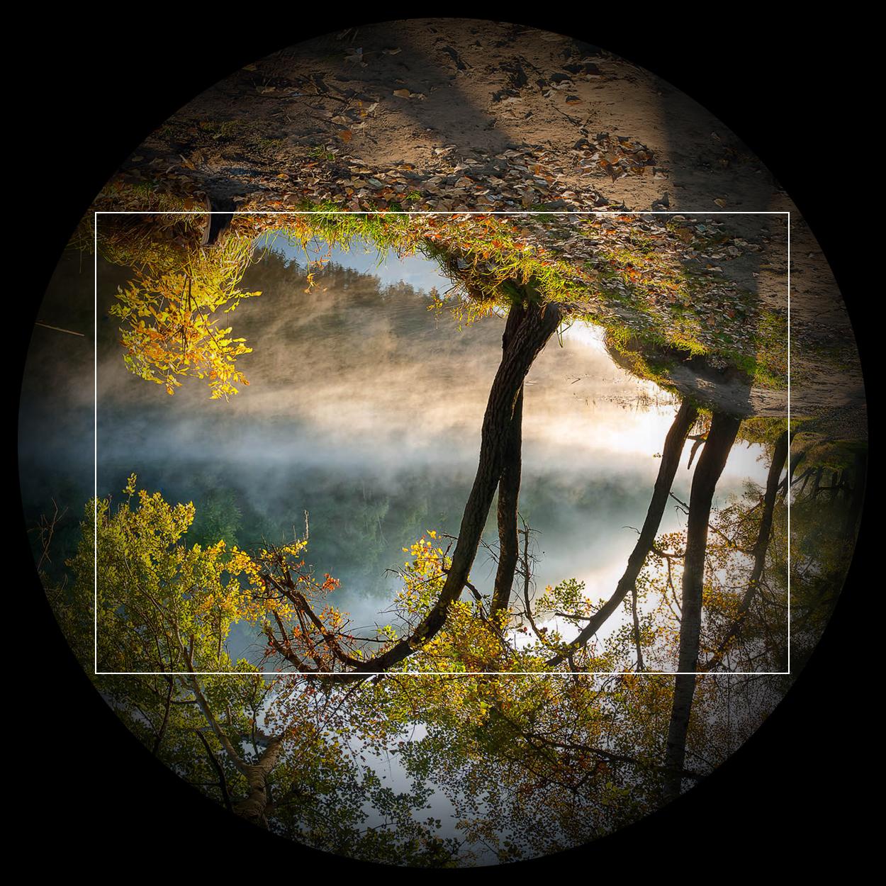 Lens image circle