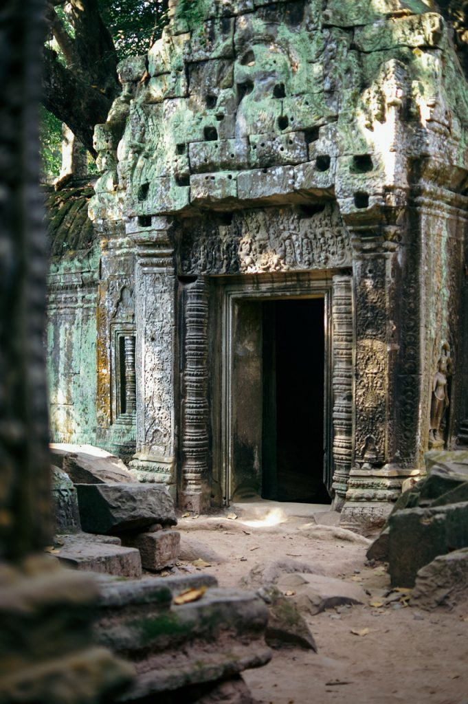 Inside Ta Prohm, Angkor
