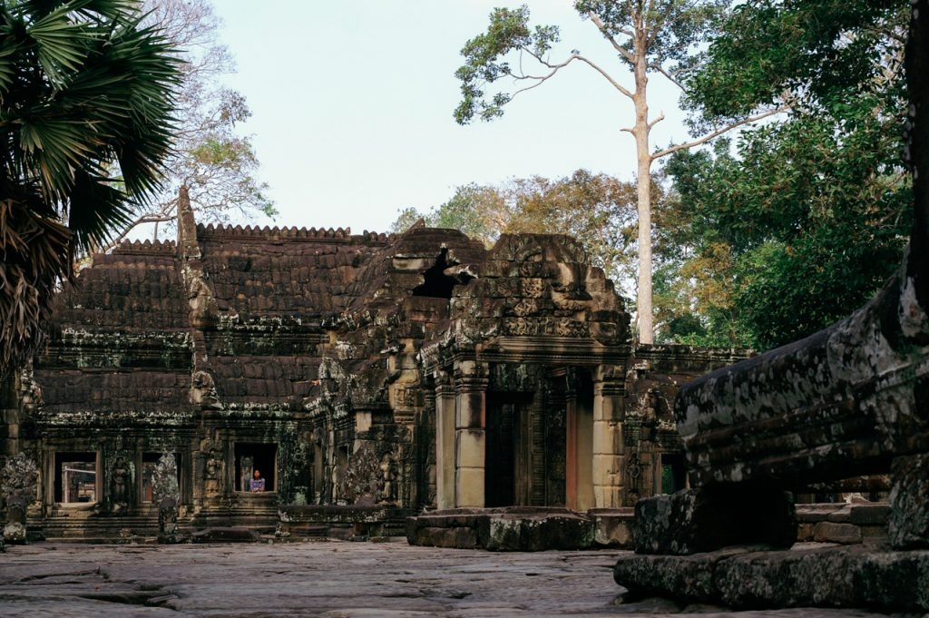 Outside of Banteay Kdei monastery, Angkor